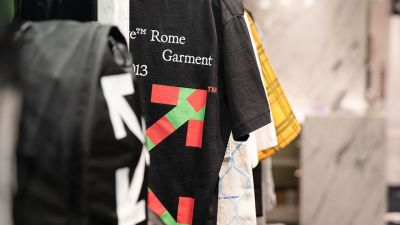 Off-White bei Rinascente in Rom