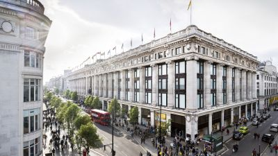 Selfridges-Warenhaus in der  Oxford-Street