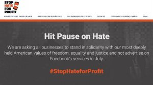 Stop Hate for Profit-Website
