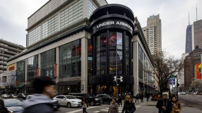Ein Store von Under Armour in Chicago.