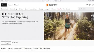 Brand Home von The North Face auf Zalando.de