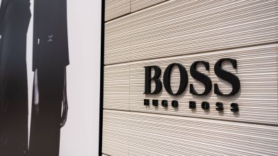 In China verbucht Hugo Boss ein zweistelliges Umsatzplus. (Foto: Store in Shenzhen, Guangdong)