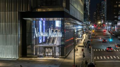 Neiman Marcus in den Hudson Yards.