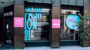Pop-up-Store zur Fashion-Ausstellung