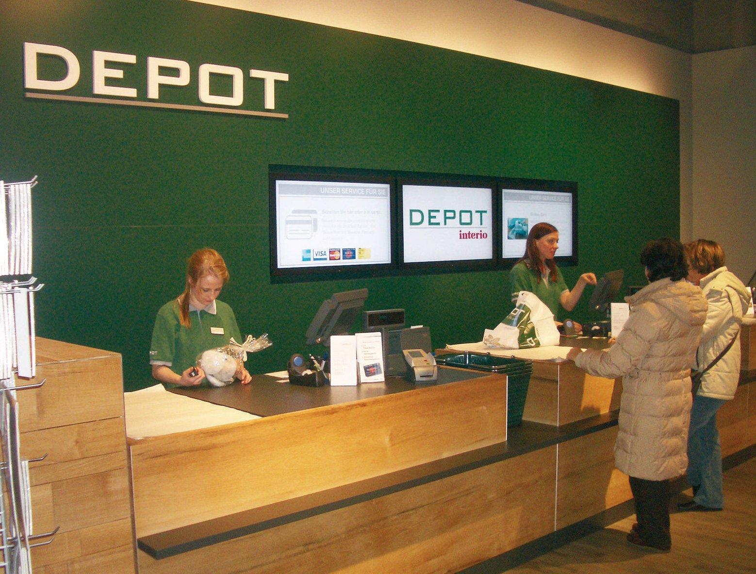 Unternehmen depot 500 filialen bis 2014 for Depot berlin filialen