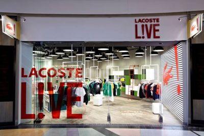brand new 6252b 8c407 Unternehmen: Lacoste eröffnet ersten deutschen Live-Store in ...