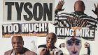 Lass ihn raus den Tiger: Mike Tyson trägt Cavalli.