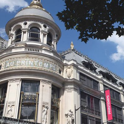 Kaufhauskette Printemps in Paris