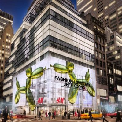 H&M Flagship in New York (Skizze: H&M)