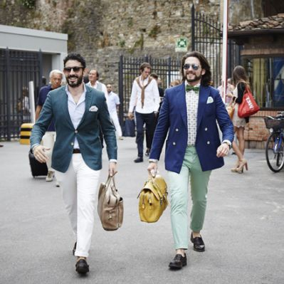 Impressionen vom Pitti Uomo in Florenz (Fotos: Aka Studio-collective)