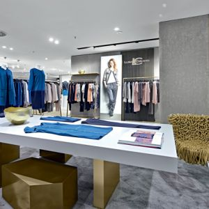 Luisa Ceranos neues Shop-Konzept (Architektur: Blocher Blocher Partners)
