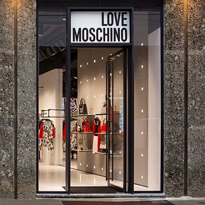Moschino-Store in Mailand