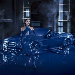 Motiv der Mercedes-Benz-Fashion-Kampagne (Foto: Mercedes-Benz)