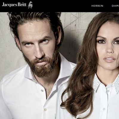 Online-Shop von Jacques Britt (Screenshot)