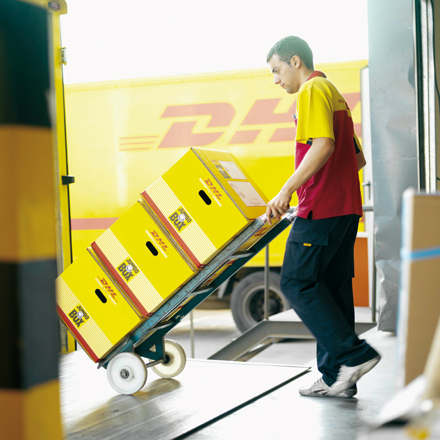 Pakettransport DHL