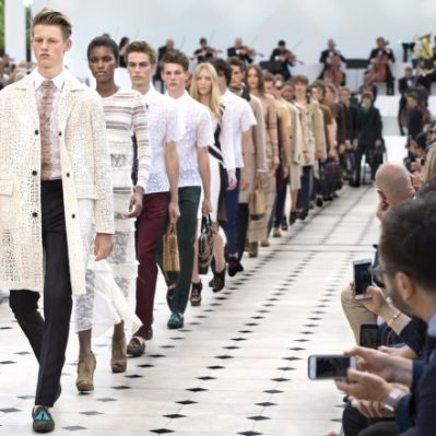 Burberry Menswear-Show Sommer 2016