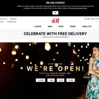 58847a653935f Unternehmen: H&M: Sieben neue Online-Shops