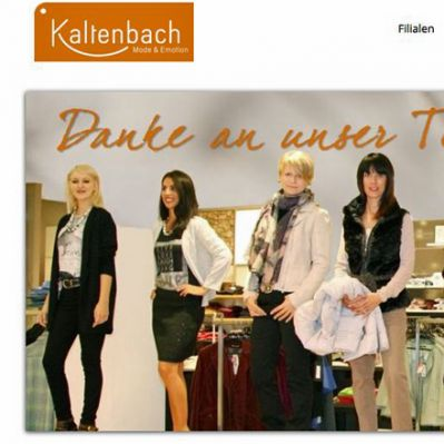 Homepage von Kaltenbach Mode in Donaueschingen