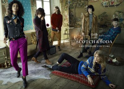 Motiv der Kampagne von Scotch & Soda für Herbst/Winter 2016 (Foto: Scotch & Soda)