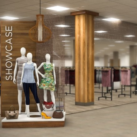 Showcase at Sears startet im Herbst mit fünf Shop-in-Shops.