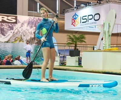 Stand-up-Paddeling im Ispo Watersports Village