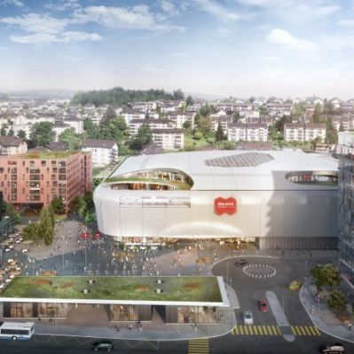 Rendering der Mall of Switzerland