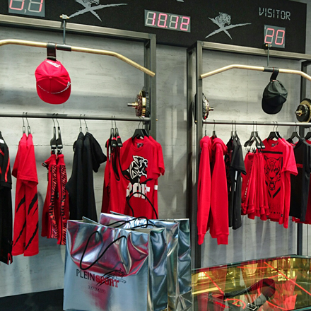 Plein Sport-Store in Paris