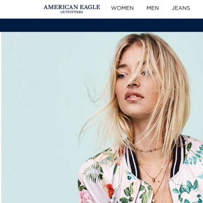 Website American Eagle Outfitters