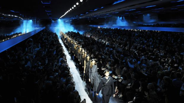Dior Herbst/Winter 2017/18 Finale der Schau in Paris