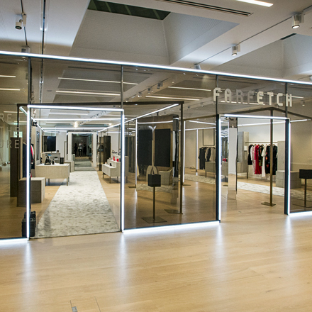 Store of the Future von Farfetch