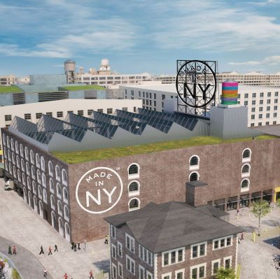 Das geplante Fashion Hub in Brooklyn