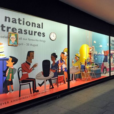 John Lewis National Treasures-Kampagne
