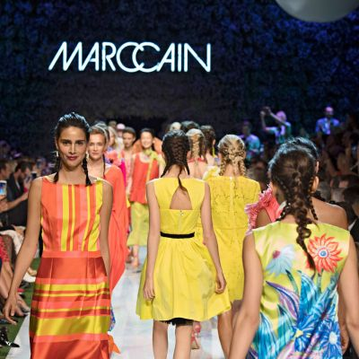 Highlight: Die Marc Cain-Schau auf der Berlin Fashion Week.